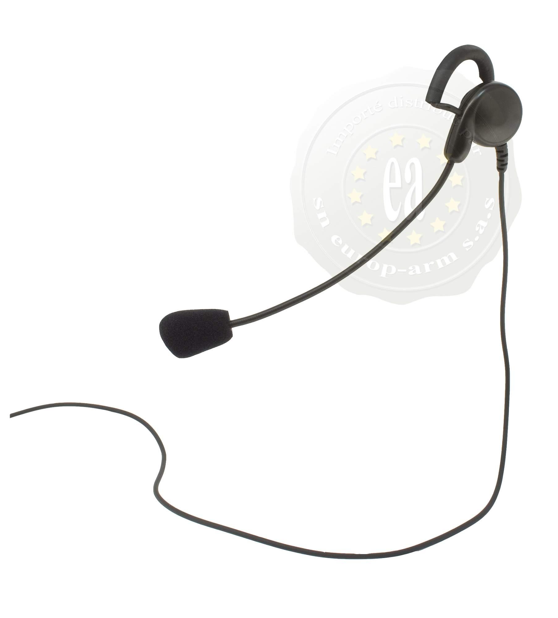 micro casque avec contact d port mod le pour les g7 g9 midland midland a69202 boutique en. Black Bedroom Furniture Sets. Home Design Ideas